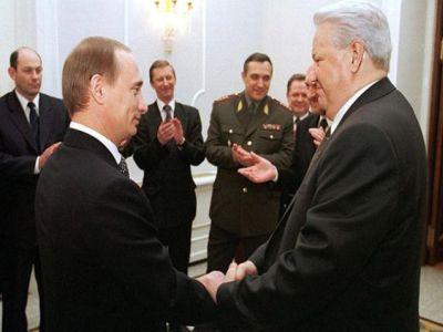 Борис Ельцин и Владимир Путин, 1999 г. Фото: novosti333.ru
