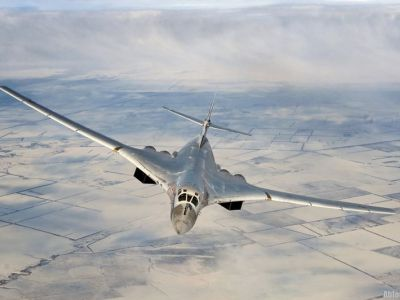 Стратегический бомбардировщик Ту-160. Фото: russian.china.org.cn