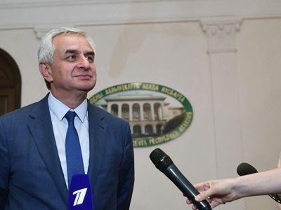 Рауль Хаджимба. Фото: Илья Питалев / РИА Новости