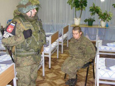 Солдат Рамиль Шамсутдинов после ареста. Фото: news-r.ru