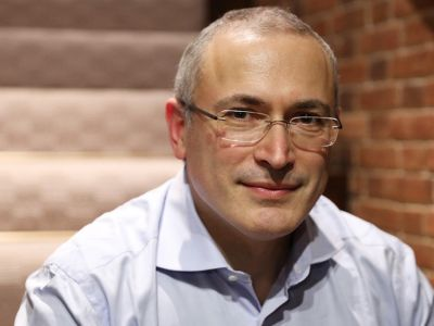 Михаил Ходорковский. Фото: Анастасия Ходорковская / DW