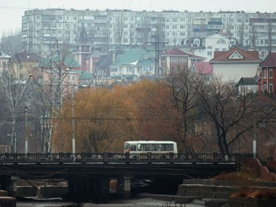 Мост через реку Воронеж в Липецке. Фото: Евгений Одиноков / РИА Новости
