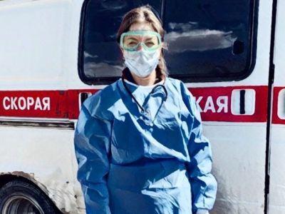 Фельдшер Валентина Монхороева. Фото: Инстаграм