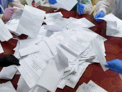 Голосование по поправкам. Фото: Евгений Биятов / РИА Новости