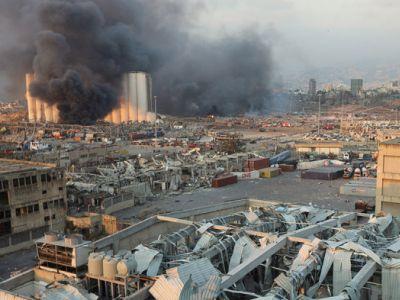 Взрыв в Бейруте.  Фото: Reuters