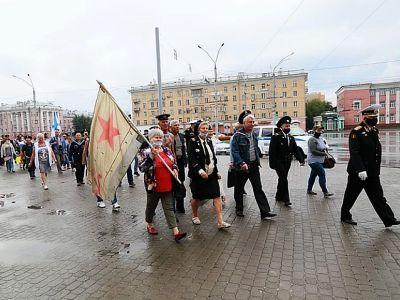 "Морпехи в Барнауле. Фото: ""КП.Алтай"""