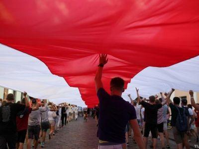 Протесты в Беларуси. Фото: Tut.by