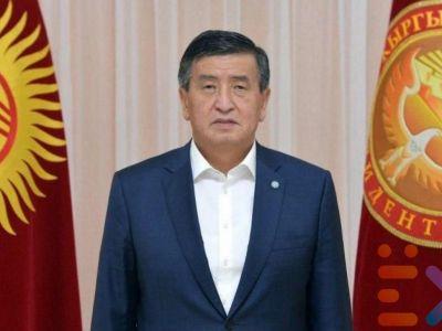 Сооронбай Жээнбеков, экс-президент Кыргызстана. Фото: t.me/naigolkah
